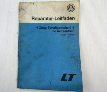 VW LT 1 ab 1975 4 Gang-Schaltgetriebe 015 und Achsantrieb Reparaturleitfaden