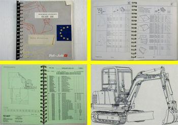 Pel-Job Händler Preisliste für Baumaschinen EB ES LS Sirius Tiga ab 04/1996