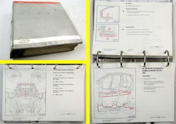 Werkstatthandbuch Audi TT 8N / A3 8L / A4 B5 / A6 C5 / Karosserie Instandsetzung