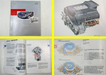 SSP 217 Audi A8 D2/4D Selbststudienprogramm 217 Der V8 5V Motor 3,7 / 4,2 L