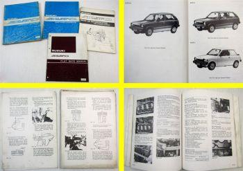 Reparaturanleitung Suzuki Suzuki AltoFX G V Typ SS ab 1988 Werkstatthandbuch