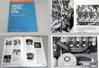 Reparaturleitfaden Werkstatthandbuch Instandhaltung Audi 100 C1 NSU Ro80 VW K70