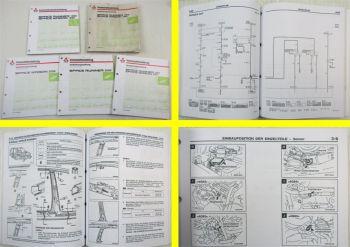 Mitsubishi Space Runner Wagon II Karosserie Werkstatthandbuch Schaltpläne Elektr
