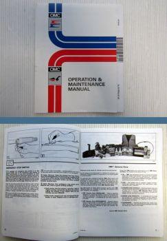 OMC 20 - 35 Rope & TE Operation Maintenance Manual / Manuel d entretien 1996