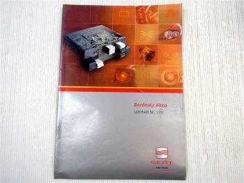 Lehrheft Nr. 101 Seat Altea Bordnetz Steuergerät Elektronik VAS 5051 2004