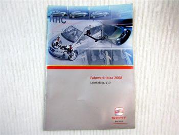 Lehrheft Nr. 119 Seat Ibiza Typ 6J 2008 Fahrwerk Konstruktion & Funktion