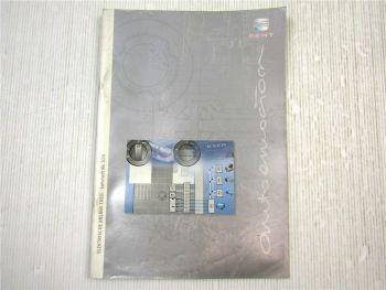 Lehrheft Nr. 124 Seat EXEO Typ 3R Elektrische Anlage Konstruktion & Funktion