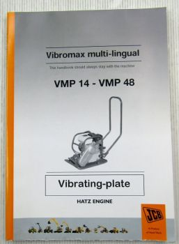 Vibromax VMP14 - VMP48 Bedienungsanleitung Instruction Manual 09/2005
