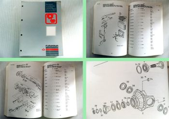 Furukawa Hydraulik Bagger W 635E Ersatzteilliste Ersatzteilkatalog 3.92 ab 51231