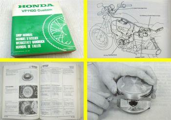 Honda VF1100 Custom VF1100C SC12 Werkstatthandbuch Reparaturanleitung Manual