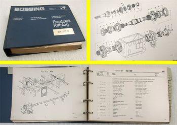 Büssing BS16L L16-185 L16-240 Ersatzteilliste Ersatzteilkatalog Parts List 67-70