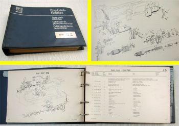 Büssing BS16L L16-185 L16-240 Ersatzteilliste Ersatzteilkatalog Parts List 67/68