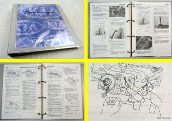 Werkstatthandbuch Kia Sportage JA Reparaturanleitung Ergänzung 2002