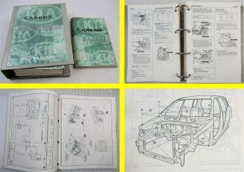 Kia Carens II Werkstatthandbuch Grundausgabe ab 2003 + Schaltpläne Elektrik