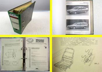 Fiat Tempra 1.4 1.6  1.8 2.0 S.W. Service Informationen 1996 Werkstatthandbuch