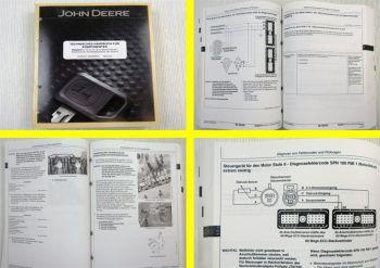 John Deere 10,5 + 12,5 l Diesel Reparatur Kraftstoffsystem Technisches Handbuch