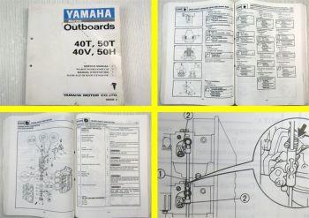 Yamaha 40T 50R 40V 50H Werkstatthandbuch Außenbordmotor Service Manual
