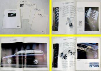 Prospekt Opel Omega Caravan MV6 11/1995 + 4 Preislisten gültig ab 05/1997