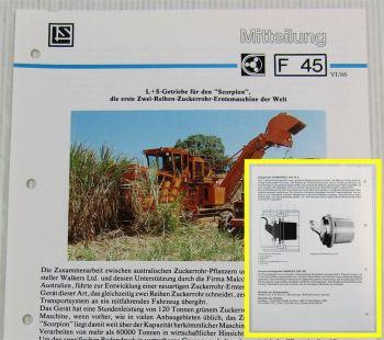 LuS Lohmann + Stolterfoht Getriebe Walkers Ltd Scorpion Technische Mitteilung 86