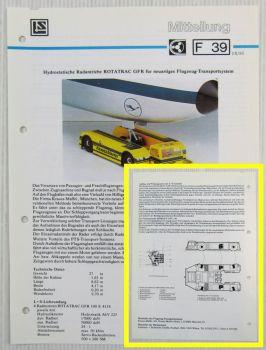 LuS Lohmann + Stolterfoht Radmotoren Krauss-Maffei PTS Technische Mitteilung