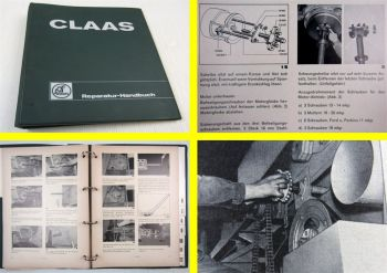 Claas Senator Mähdrescher Werkstatthandbuch Reparaturhandbuch