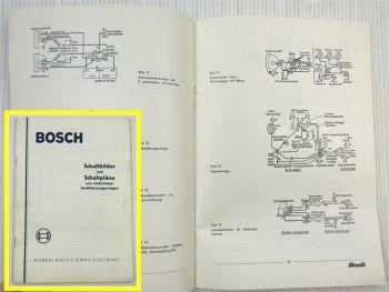 Bosch Schaltbilder und Schaltpläne von elektrischen Kraftfahrzeuganlagen 04/195