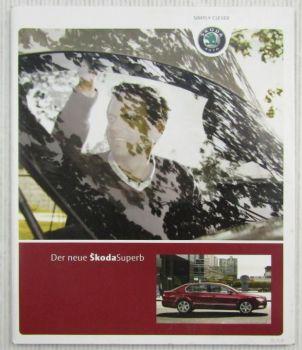 Prospekt Der neue Skoda Superb Ausgabe Juni 2008
