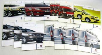 16 Prospekte Fiat Panda + Panda 4x4 Ducato Bravo Sedici 4x4 Croma Scudo