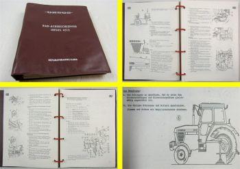 Ursus 4512 Rad-Ackerschlepper Werkstatthandbuch 1989