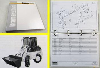 Kramer Allrad 621 Schaufellader Ersatzteilliste Spare parts list Typ 303-00