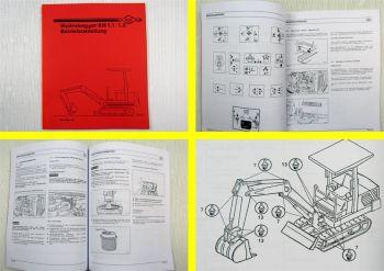 O&K RH 1.1 1.2 Hydrobagger Betriebsanleitung Bedienungsanleitung