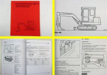 O&K RH2.4 Hydrobagger Betriebsanleitung Bedienungsanleitung
