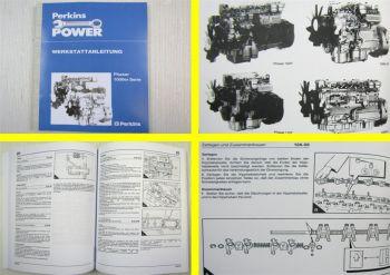 Werkstatthandbuch Perkins Phaser 1000er Serie Motoren Reparaturhandbuch