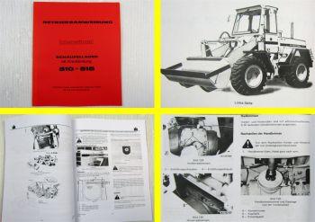 IHC 510 515 Betriebsanleitung Bedienungsanleitung Wartung