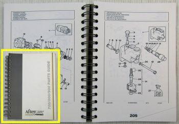 Fermec MF700 MF800 900 Ersatzteil-Bildkatalog Ersatzteilliste Parts List 07/1997