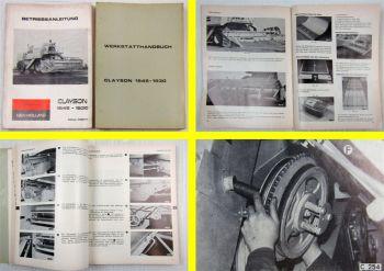 Clayson 1545 1530 Mähdrescher Werkstatthandbuch Reparatur Bedienungsanleitung