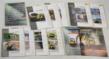 11 Prospekte + Verkaufshandbuch Fermec 150 MF514 516 XP 518 Series 700 800