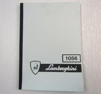 Lamborghini 1056 Traktor Ersatzteilkatalog 1977