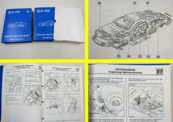 Renault Alpine Typ D503 Werkstatthandbuch Reparaturhandbuch Karosserie Mechanik
