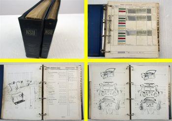 NSU Prinz 1000L Ersatzteilkatalog 1964 - 1968 + Preisliste Ersatzteile bis 1970