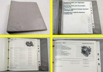 DKW Audi NSU Austausch Teile und Aggregate Katalog 85 Stand 1971