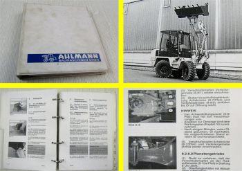 Ahlmann AS45 AZ45 Schwenklader Bedienungsanleitung Betriebsanleitung 1997