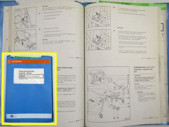 Reparatur Audi 80 B4 RS2 S2 Coupe Fahrwerk Allradantrieb Werkstatthandbuch 1995