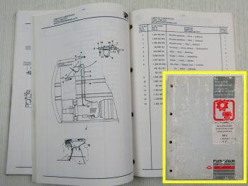 Furukawa 645E Hydraulikbagger Ersatzteilliste Ersatzteilkatalog 02/1991