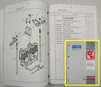 Furukawa Engine F659T/TA for 635E - W635E 640E Excavators and 335 Wheel Loaders