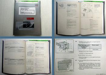 Audi A4 B5 Werkstatthandbuch Motronic Einspritz- Zündanlage 4 Zyl. Turbo ANB APU