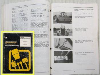 Dresser Furukawa 530C 540C Payloader Betriebsanleitung Bedienungsanleitnug 03/88