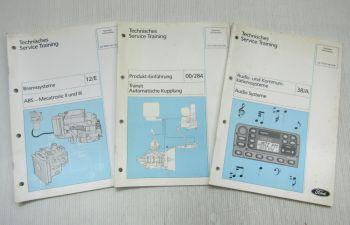 Ford Transit Audio Kommunikationsysteme ABS Mechatronic II III Kupplung Schulung