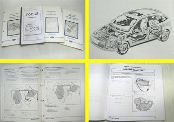 Ford Focus + 1,8l DuraTorq Technisches Training Schulungshandbuch 1998 - 2001