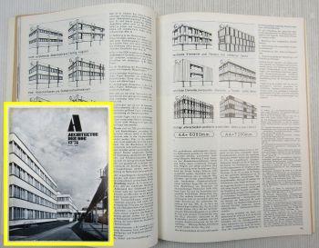 Architektur der DDR Manufaktur Meißen Rostock Schwedt Ludwigsfelde Prag 12/1978